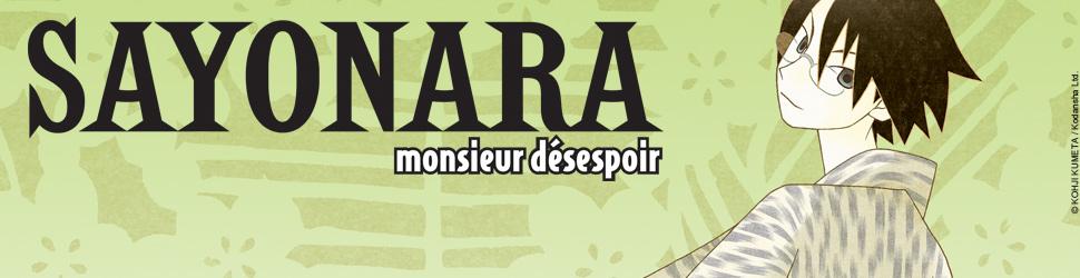 Sayonara Monsieur Désespoir - Manga