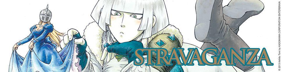 Stravaganza - la Reine au Casque de Fer - Manga