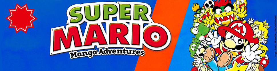 Super Mario - Manga adventures - Manga