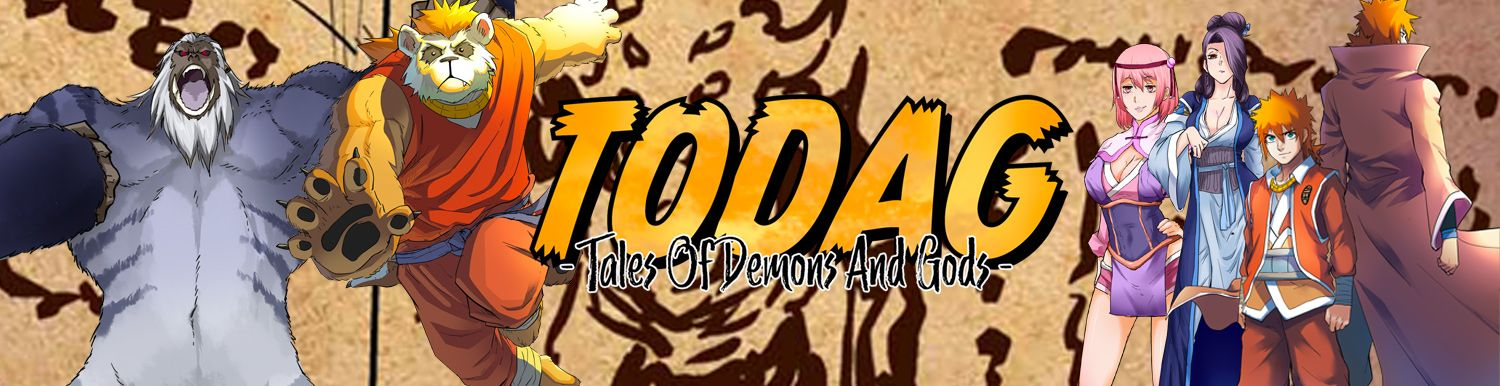 TODAG - Tales of Demons and Gods - Manga