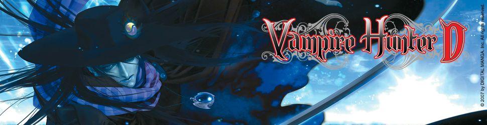 Vampire Hunter D - Manga