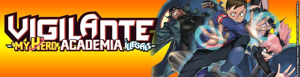Vigilante – My Hero Academia Illegals - Manga