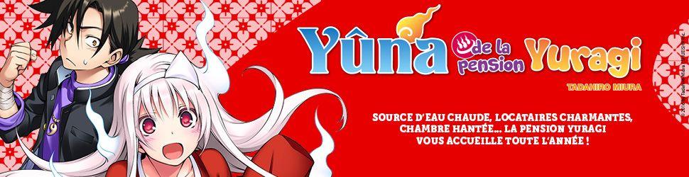 Yuna de la pension Yuragi - Manga