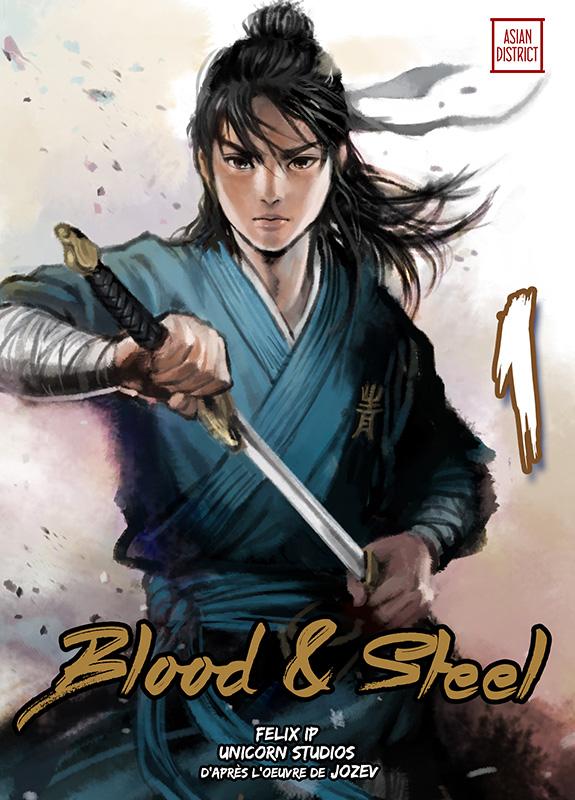 Manga - Blood and steel