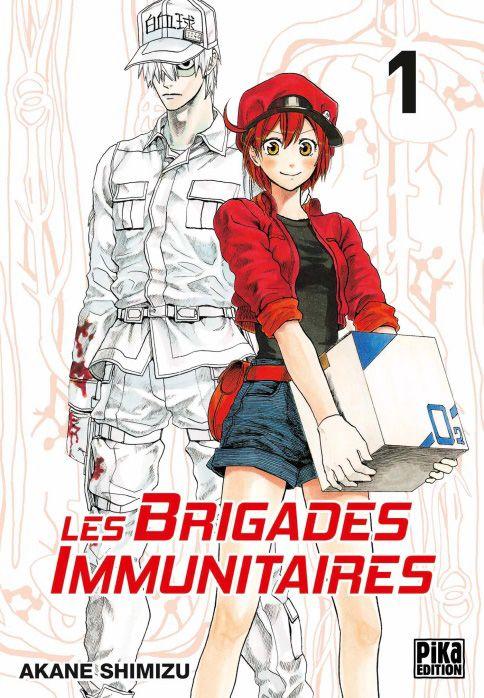 brigades immunitaires  les  - manga s u00e9rie