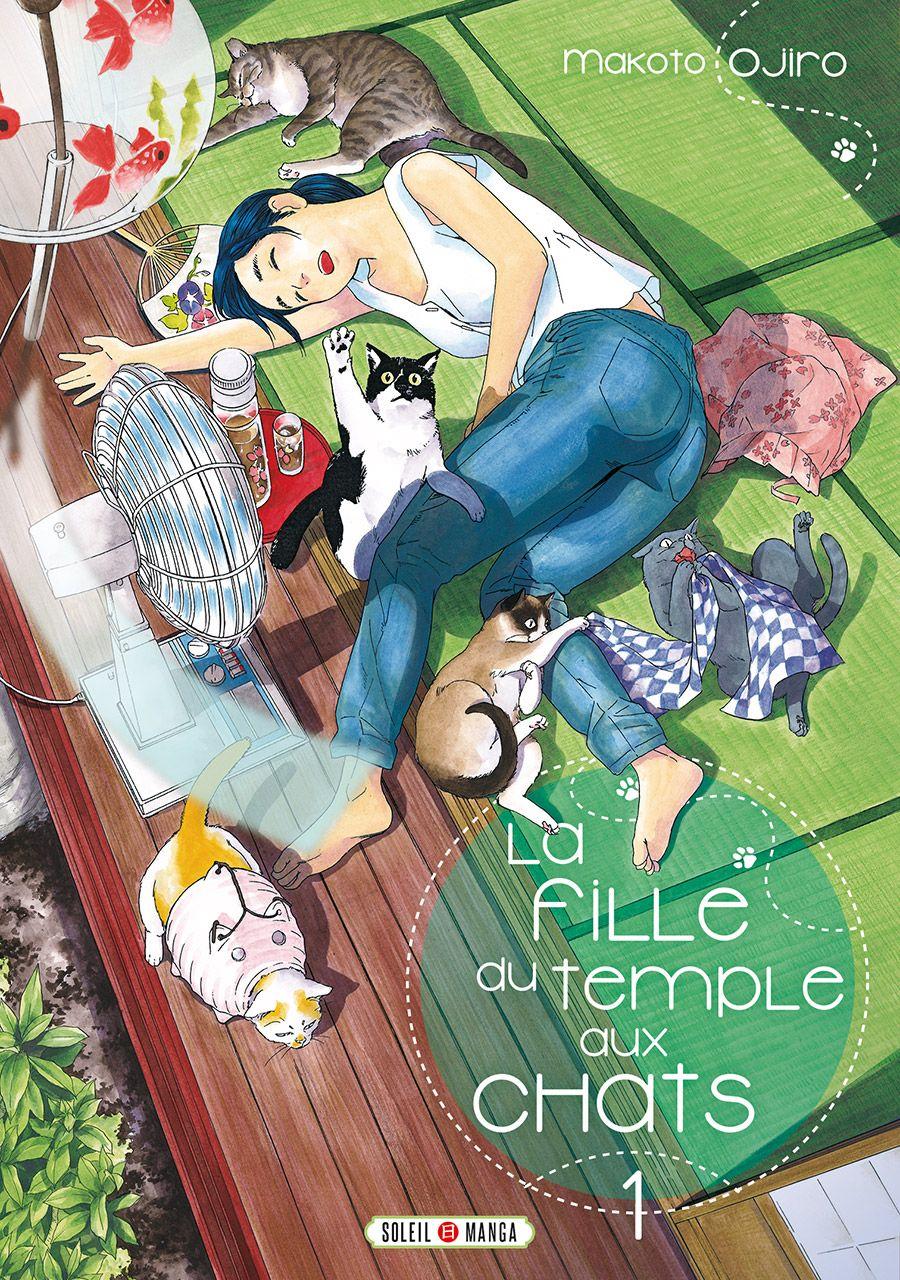 Manga - Fille du Temple aux Chats (la)