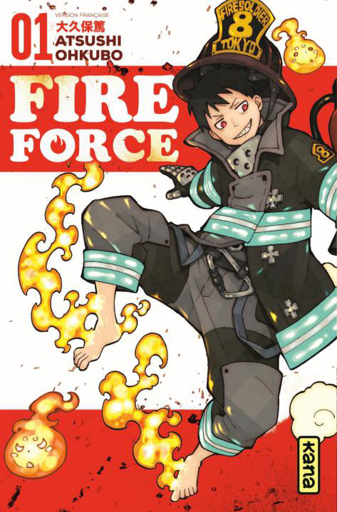 Manga - Fire Force