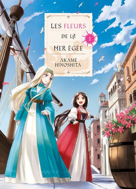 Fleurs de la mer Egée (les) - Manga série - Manga news