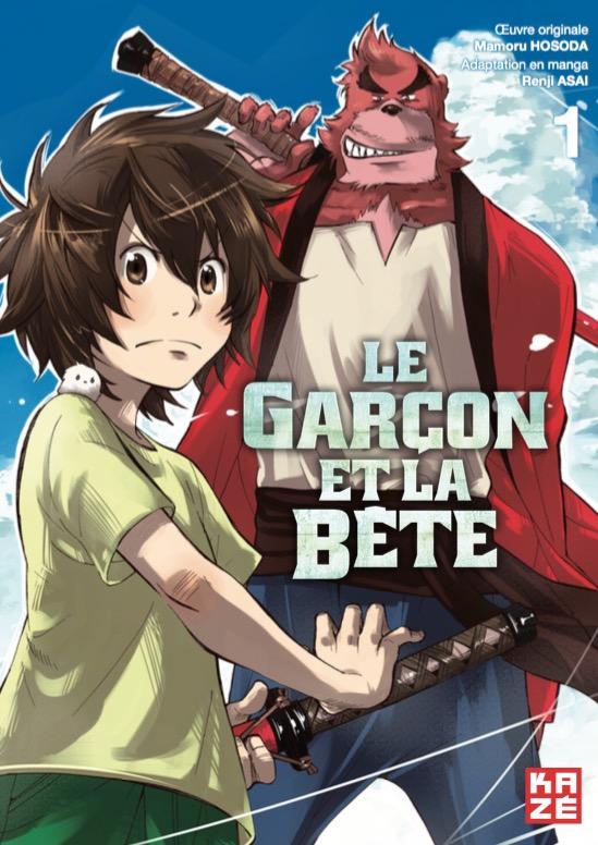 Le Garçon et la Bête [Shonen] Garcon-bete-1-manga-kaze