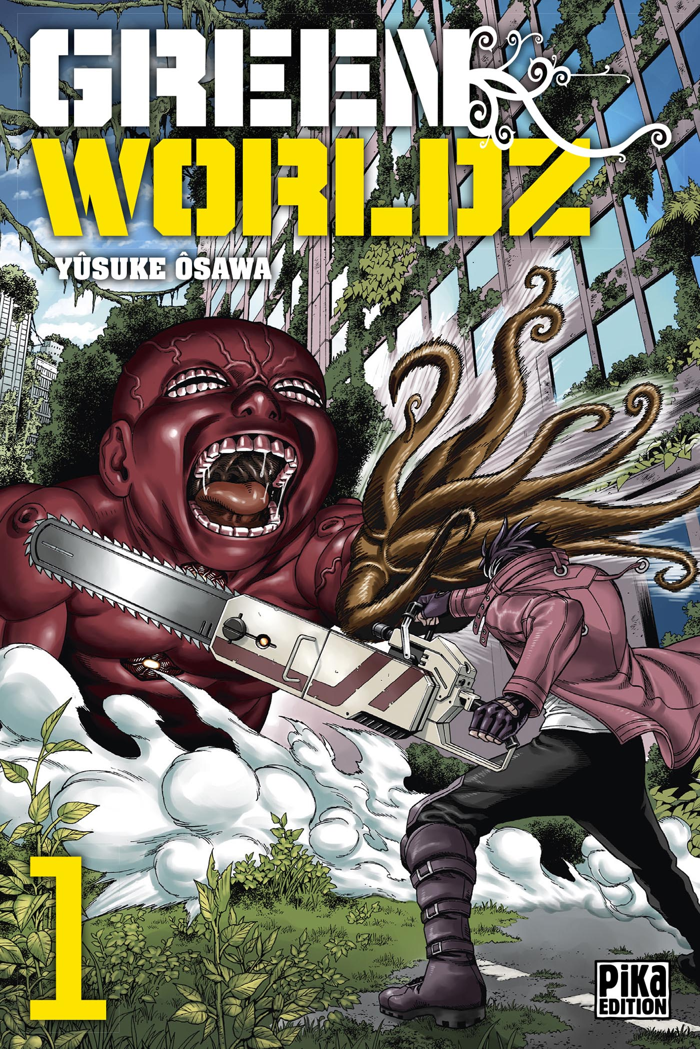 Green Worldz - Manga série - Manga news