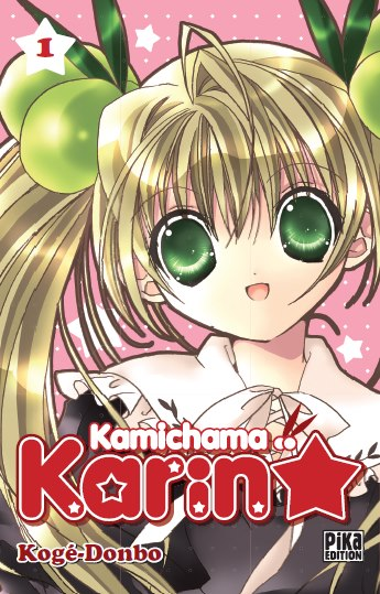 manga suki kamichama karin tome 1. Black Bedroom Furniture Sets. Home Design Ideas