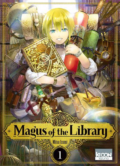 Manga - Magus of the Library