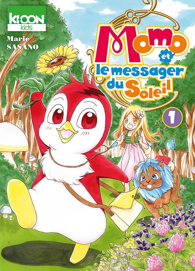 Manga - Momo et le messager du soleil