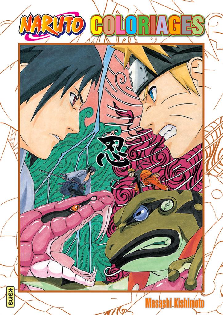Naruto coloriages manga s rie manga news - Image a colorier naruto ...