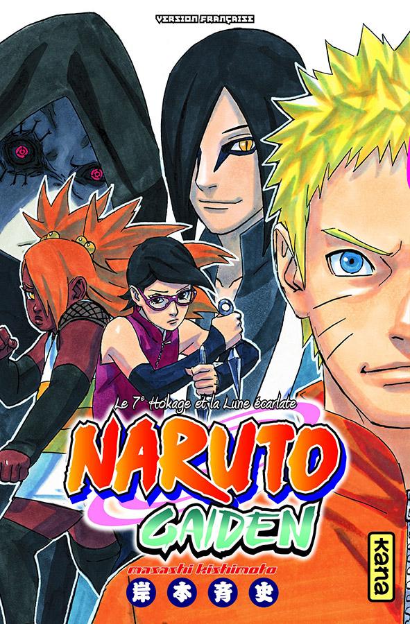 Manga - Naruto Gaiden
