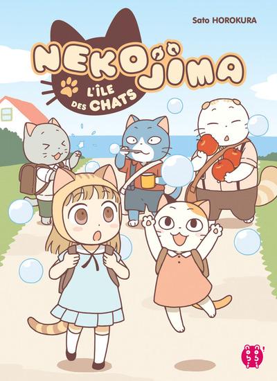 Manga - Nekojima - L'île des chats