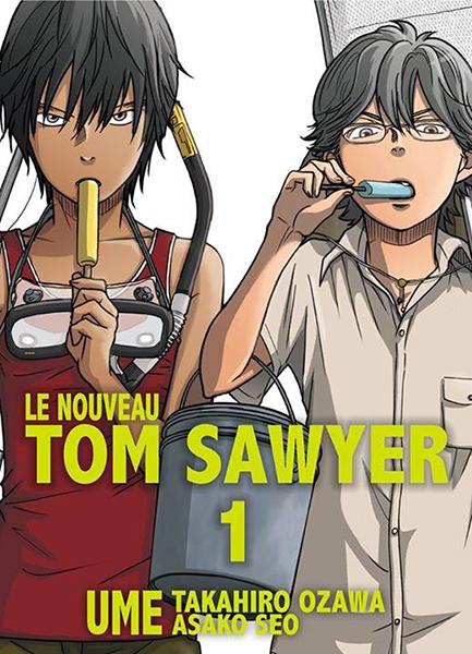 Manga - Nouveau Tom Sawyer (le)