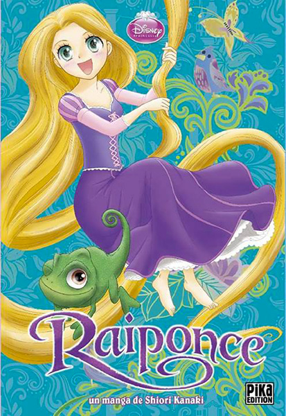Raiponce manga s rie manga news - La princesse raiponce ...