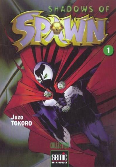 shadows of spawn - manga s u00e9rie