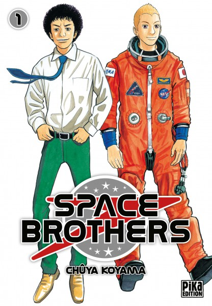 Space Brothers (Manga Japonais) Space-brothers-1-pika