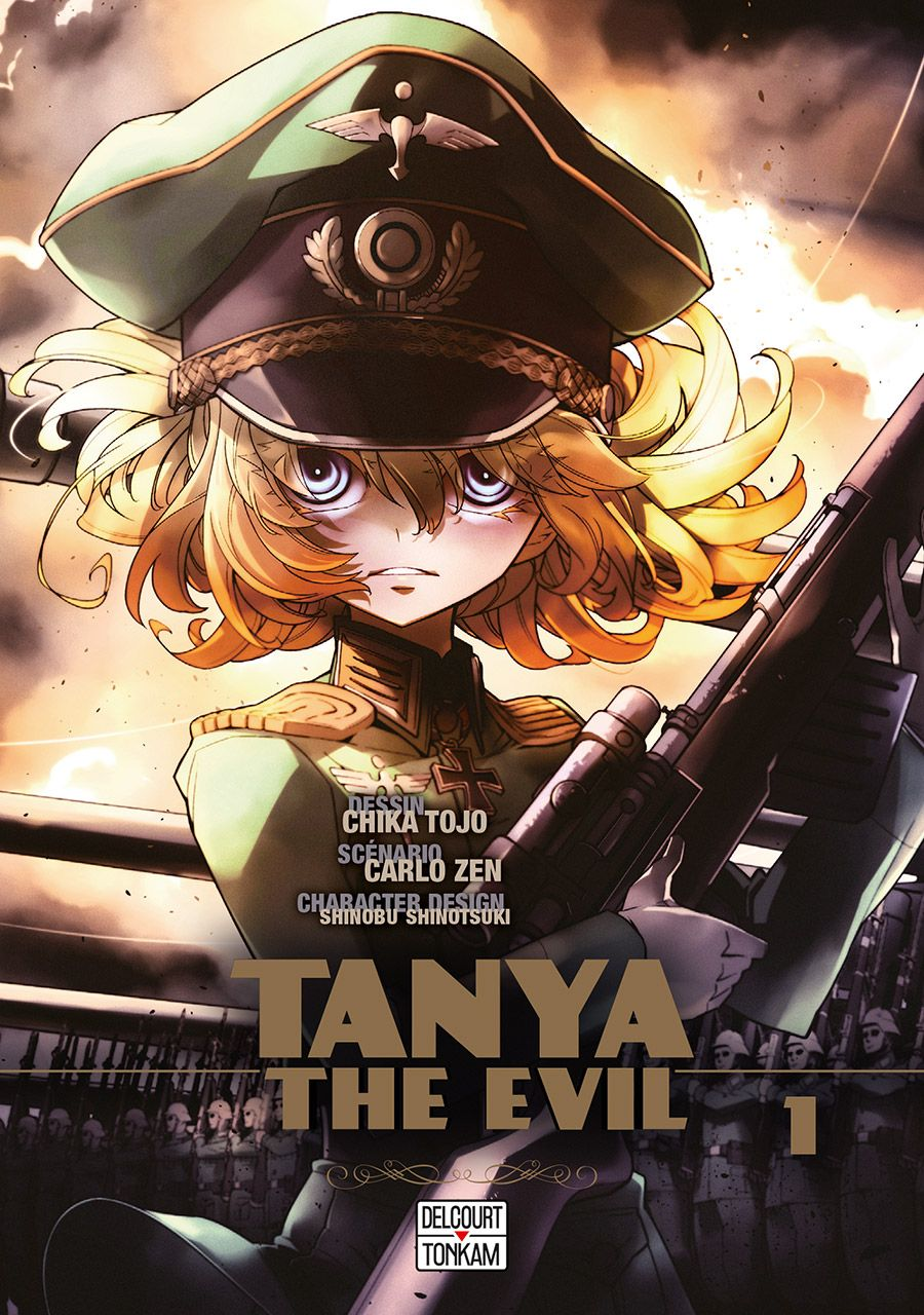Manga - Tanya The Evil