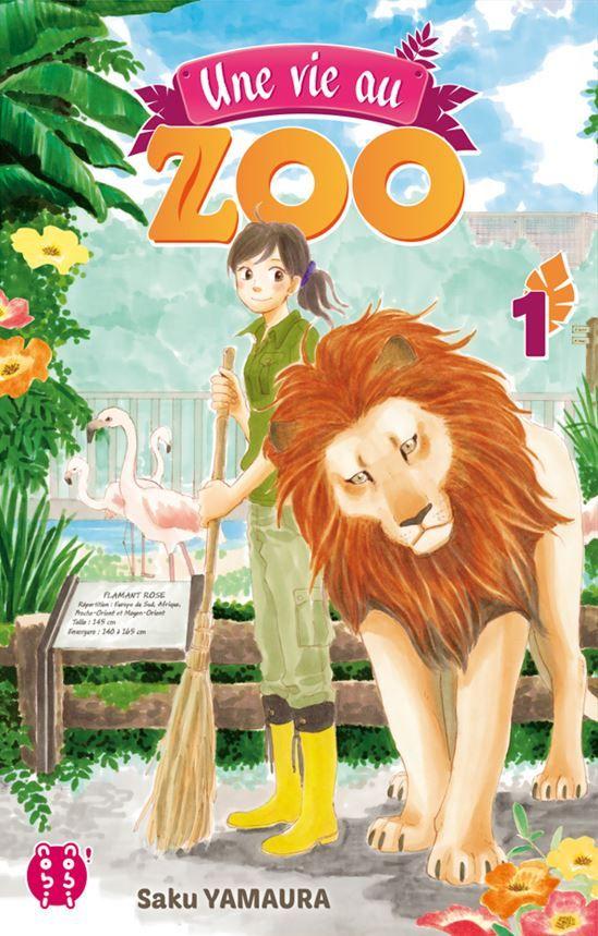 Manga - Vie au Zoo (une)