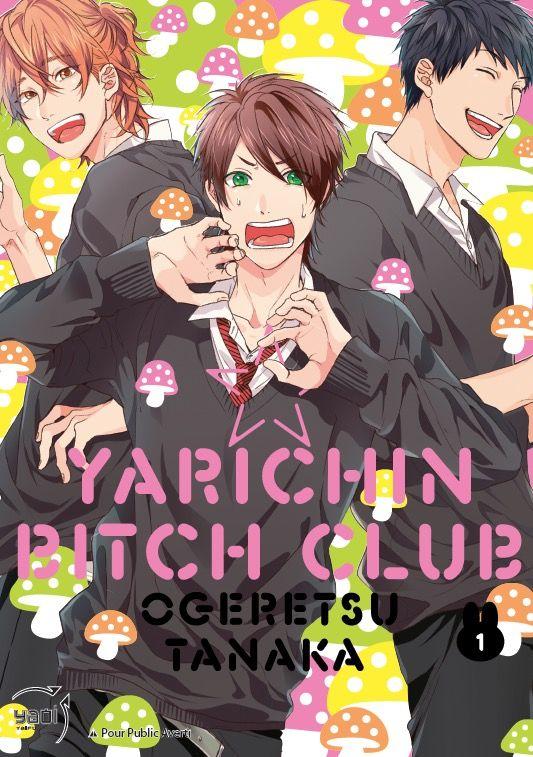 yarichin bitch club - manga s u00e9rie