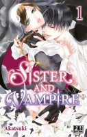 Manga - Sister and vampire Vol.1