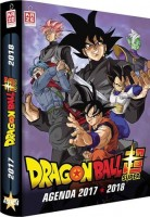 manga - Agenda Kaze 2017-2018 - Dragon Ball Super