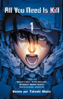 Mangas - All you need is kill Vol.1