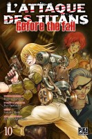 Manga - Attaque Des Titans (l') - Before the Fall Vol.10