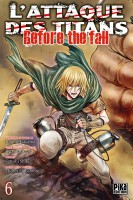 Manga - Manhwa -Attaque Des Titans (l') - Before the Fall Vol.6
