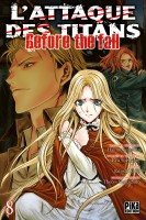 Manga - Manhwa - Attaque Des Titans (l') - Before the Fall Vol.8