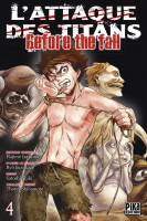 Manga - Attaque Des Titans (l') - Before the Fall Vol.4