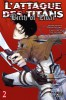 Manga - Manhwa - Attaque Des Titans (l') - Birth of Livai Vol.2