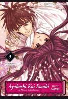 Manga - Manhwa -Ayakashi koi emaki - Le Manuscrit des Illusions Vol.3