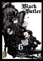 Manga - Manhwa - Black Butler Vol.6