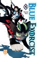Blue Exorcist Vol.8
