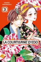 manga - Courtisane d'Edo (la) Vol.3