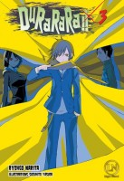 manga - Durarara - Light Novel Vol.3