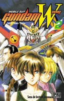manga - Mobile suit Gundam Wing Vol.2