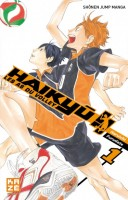 Manga - Manhwa -Haikyu !! - Les as du volley ball Vol.1