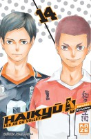 Manga - Manhwa -Haikyu !! - Les as du volley ball Vol.14