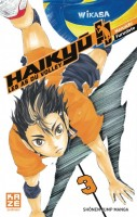 Mangas - Haikyu !! - Les as du volley ball Vol.3