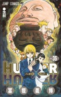 Manga - Manhwa - Hunter X Hunter jp Vol.35