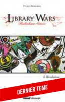 Mangas - Library Wars - Roman Vol.4
