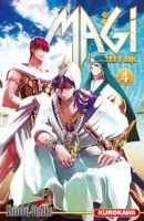 Mangas - Magi - The Labyrinth of Magic Vol.4
