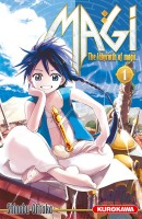 Manga - Magi - The Labyrinth of Magic Vol.1