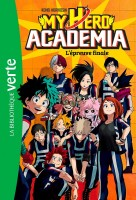 Manga - Manhwa - My Hero Academia - Bibliotheque verte Vol.4