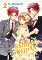 Manga - Manhwa - Shinobi Quartet Vol.2